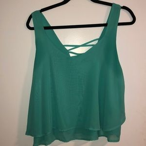 ❤️ Mint green crop top